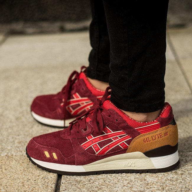 Buy asics gel lyte iii womens red > Up to OFF46% Discounted