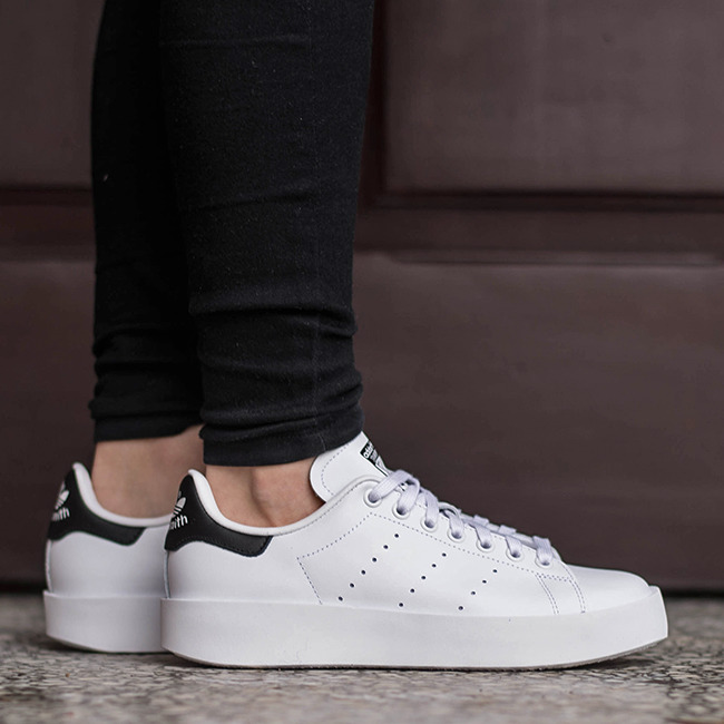 women 39 s shoes sneakers adidas originals stan smith bold. Black Bedroom Furniture Sets. Home Design Ideas