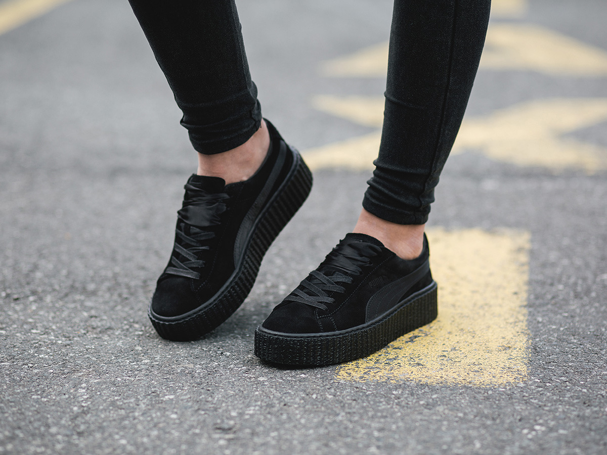 Puma Fenty Black Velvet Creepers simplisecurity.co.uk 5538e6b26fdf