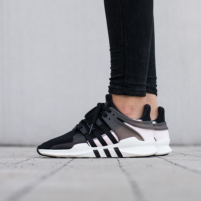 groß adidas Equipment Support ADV Schuhe WhiteBlack