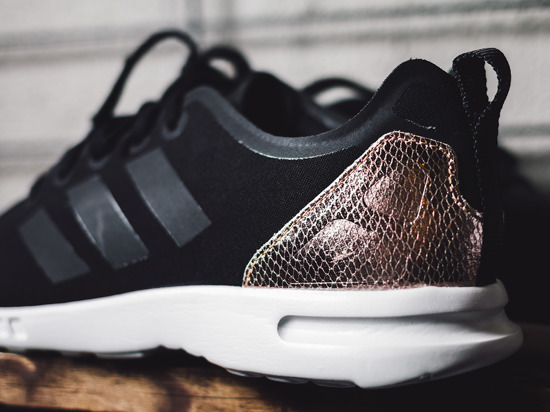 adidas zx flux smooth rosegold